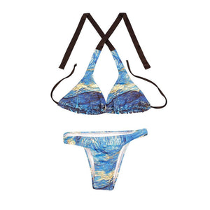 The starry night Swimwear bikini