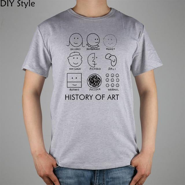History of Art Tshirt