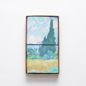 Van Gogh Leather Cover Notebook