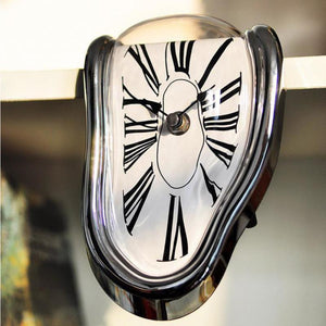Salvador Dali Surrealist Clock