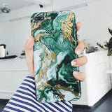 Abstract Vintage Marble iPhone Case For iPhone