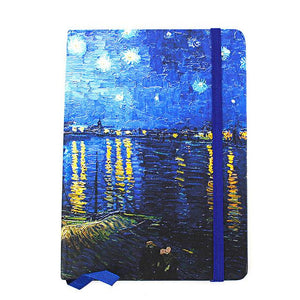 Hard Cover A6 Van Gogh Paintings Notebook