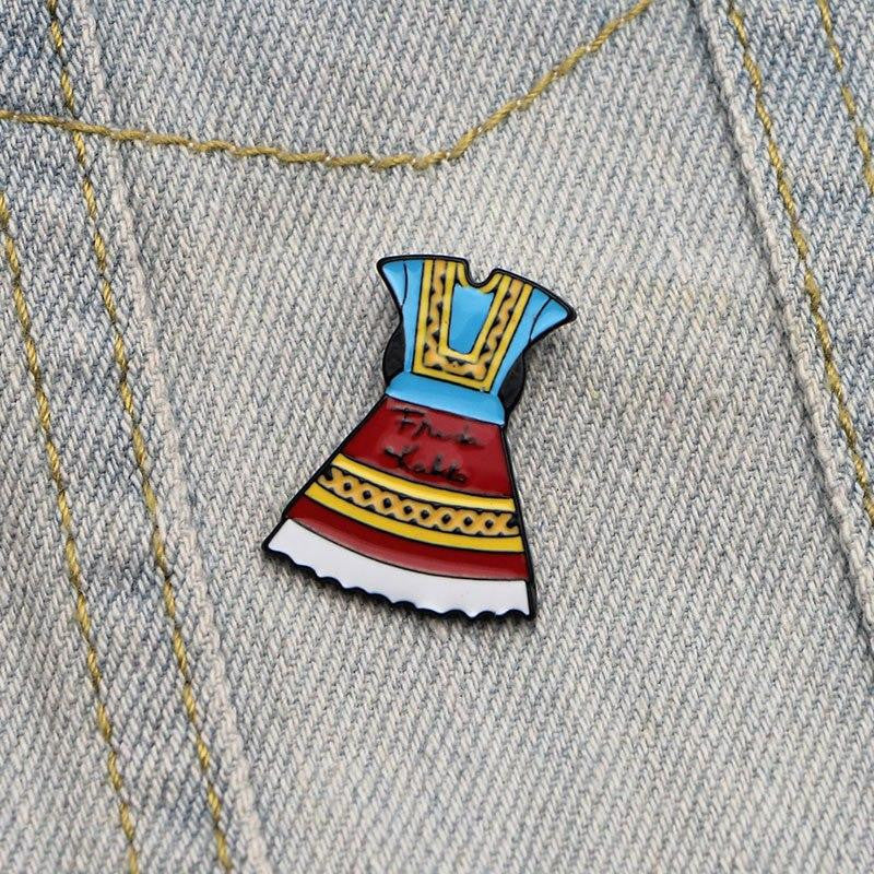 Frida Kahlo Enamel Pin badge
