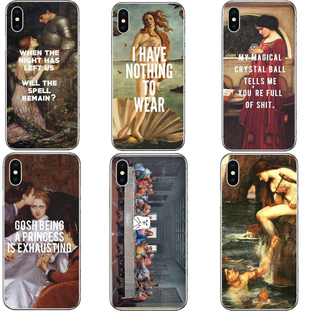 Painting X quote iPhone Case