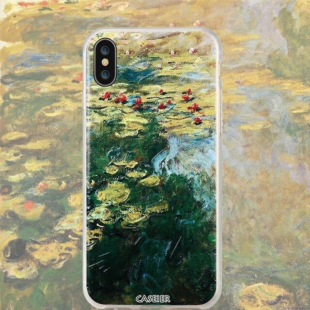 Monet Water lilies iPhone Cases