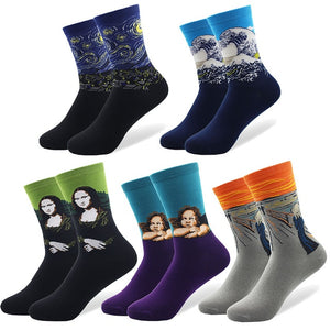 Art Socks bundle - 5 Paires pack