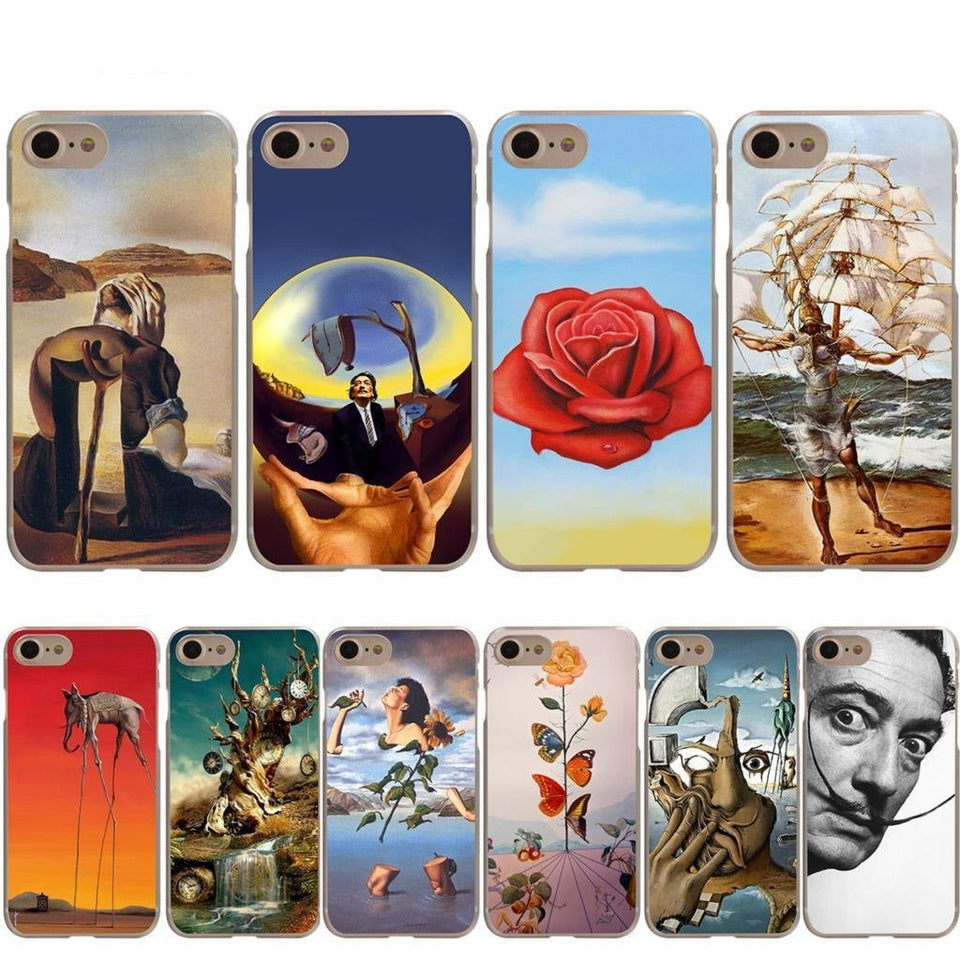 Salvador Dali iPhone cases