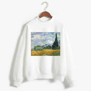 Wheat Fields with Cypress Sweatshirt