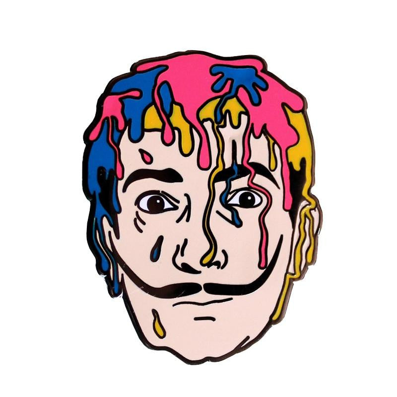Salvador DALI Enamel Pin badge
