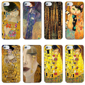 Gustav Klimt Painting iphone cases