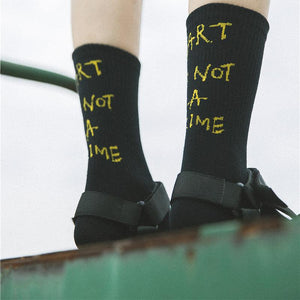 Art is not a crime Socks