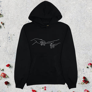 Creation of Adam minimalist Hoodie
