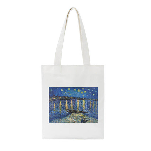 Van Gogh paintings bags