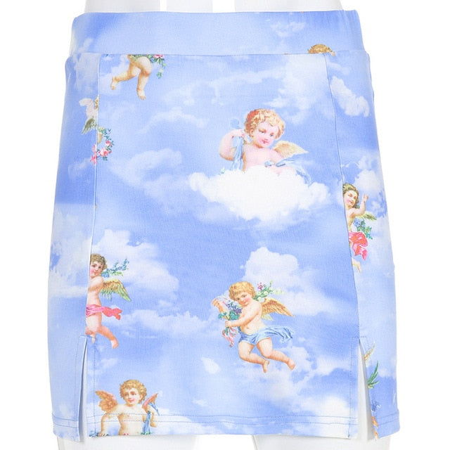 Angels Mesh Skirt