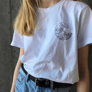 The Great Wave pocket T-shirt