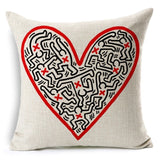 Keith Haring pillow Case
