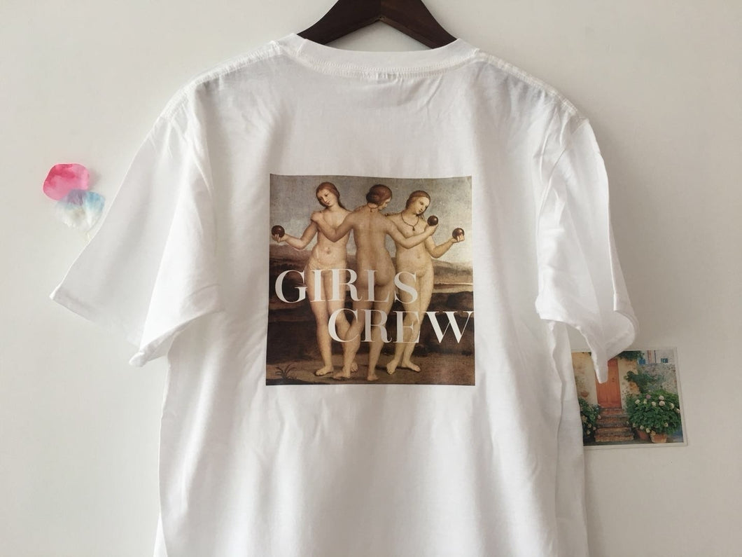 Girls Crew T-shirt