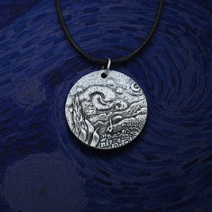 The Starry Night Van Gogh Necklace