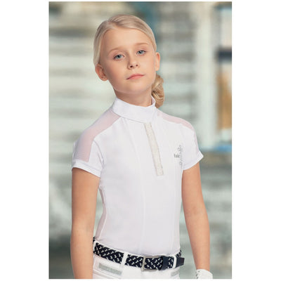 FairPlay Claire Pearl Competition Shirt WHITE