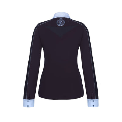 FairPlay Claire Long Sleeved Competition Shirt BLACK