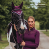 Equestrian Stockholm Champion Training Top Long Sleeve PURPLE
