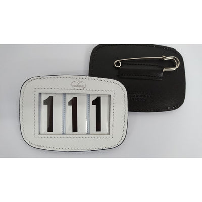 Hamag Leather Saddle Number Holder