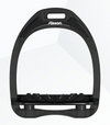 Flex-On Aluminium Inclined Ultra Grip Stirrups BLACK/BLACK/BLACK