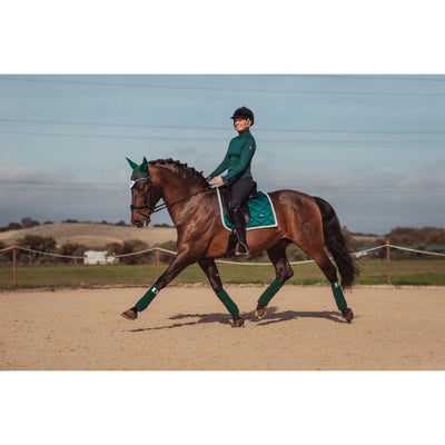 Equestrian Stockholm Fleece Bandages Amazonite