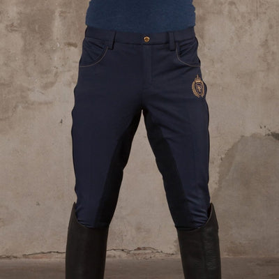 B Vertigo Aron Mens Breeches NAVY 54 (UK 38)