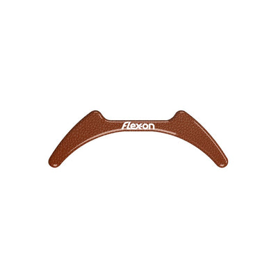 Flex-On Interchangeable Stirrup Magnet - For GC and Aluminium Stirrups BROWN LEATHER