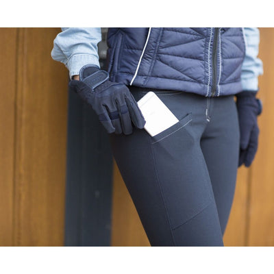 QHP Chaney Silicone Seat Ladies Breeches