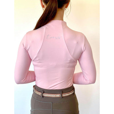 Epona Elite Ella Ladies Long Sleeve Baselayer SOFT PINK