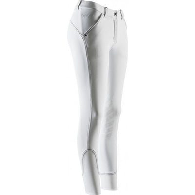Equit M Thermic Temperature Control NON-SEE-THROUGH Full Seat Breeches WHITE