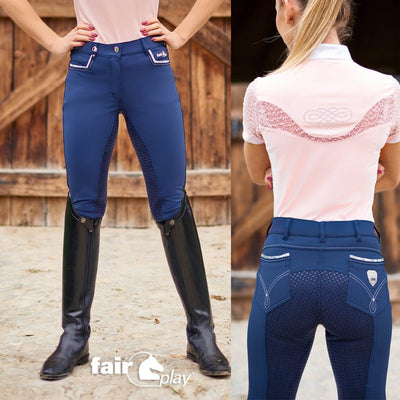 FairPlay Cleo Silicone Full Seat Breeches