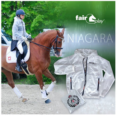 FairPlay Niagara Transparent Raincoat