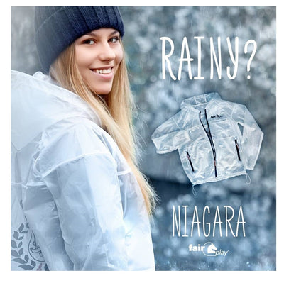 FairPlay Niagara Transparent Kids Raincoat