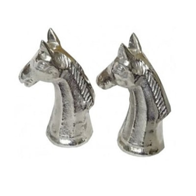 Salt and Pepper Shakers Silver Horse
