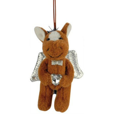 Guardian Angel Horse Ornament