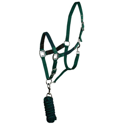 Horze Braided Halter and Lead Set