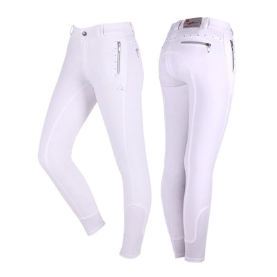 QHP Isa Silicone Seat Kids Breeches