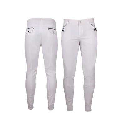 QHP Jack Self-Knee Mens Breeches