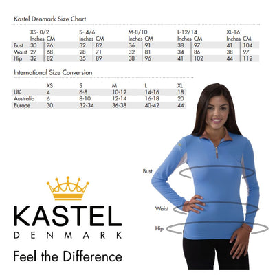 Kastel Denmark Charlotte Long Sleeve SPF Shirt Black/White