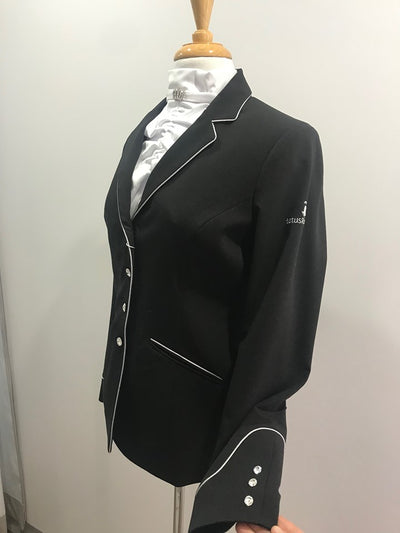 Lotus Romeo Classic Competition Jacket BLACK/GREY 40 (AU 12)