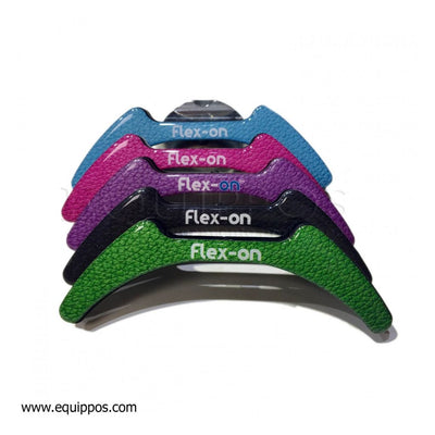 Flex-On Green Composite Inclined Ultra Grip Stirrups NAVY/WHITE/LIGHT BLUE