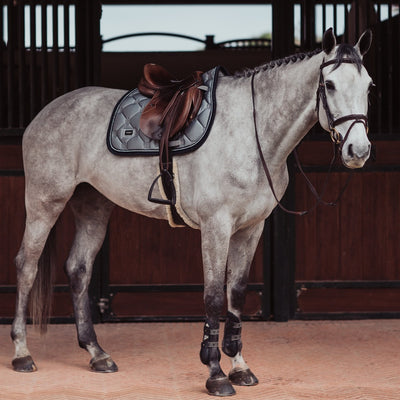 Equestrian Stockholm All Purpose Saddle Grey Crystal