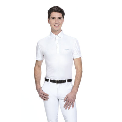 Equi-Theme Mesh Mens Competition Polo