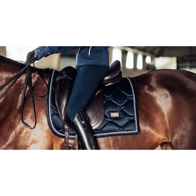 Dressage Saddle Pad Equestrian Stockholm Midnight Blue