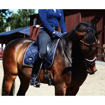 Dressage Saddle Pad Equestrian Stockholm Royal Classic