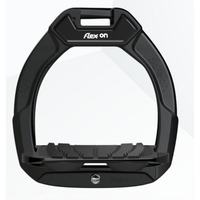Flex-On SAFE ON JUNIOR Safety Stirrups BLACK-BLACK-BLACK