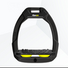 Flex-On Interchangeable Safe-On Stirrup Magnet BLACK YELLOW